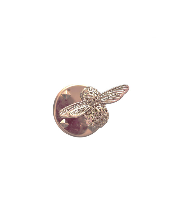 OLIVIA BURTON LONDON  Rose Gold Bee Pin  OBPIN02 – Bee Pin in Rose Gold - Back view