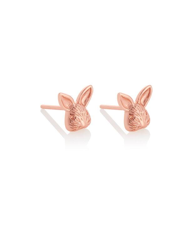 OLIVIA BURTON LONDON 3D Bunny Studs Rose GoldOBJAME110 – 3D Bunny Studs Rose Gold - Side view
