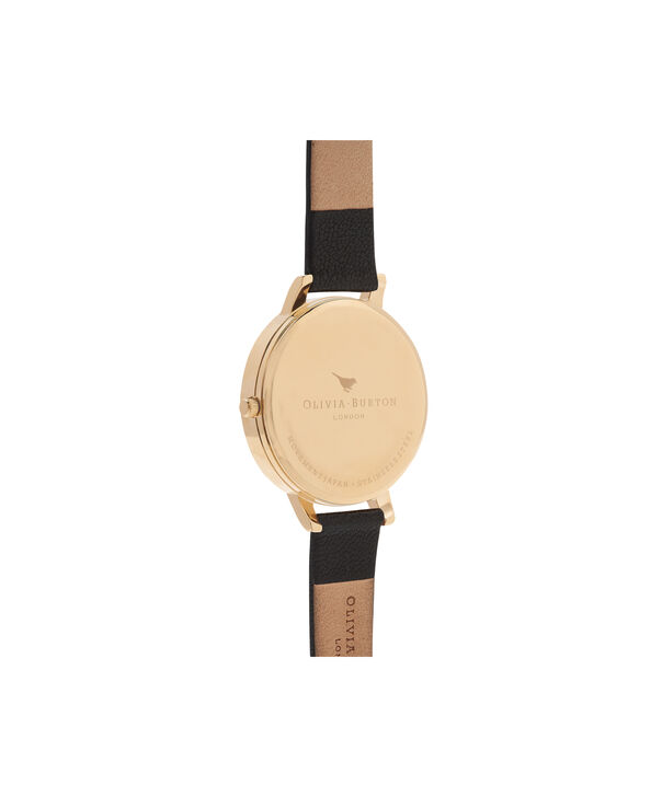 OLIVIA BURTON LONDON Case Cuff Black Dial and GoldOB16CB07 – Removable Case Cuff - Back view