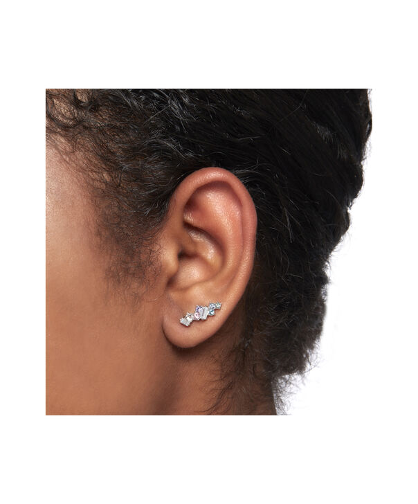 OLIVIA BURTON LONDON Rainbow Bee Crawler & Stud SilverOBJAME131 – Earrings in Silver - Other view