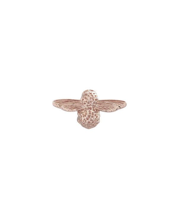 OLIVIA BURTON LONDON Rose Gold Bee PinOBPIN02 – Bee Pin in Rose Gold - Front view