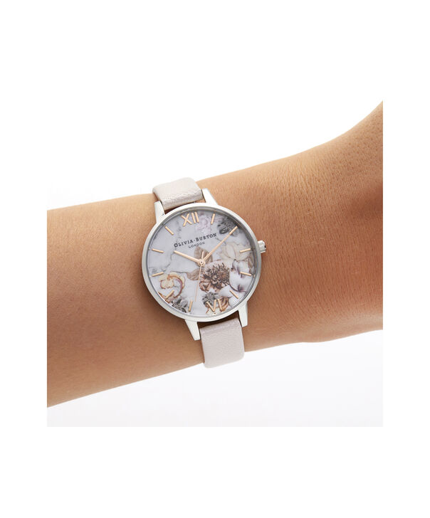 OLIVIA BURTON LONDON Demi Pearl Pink, Rose Gold & SilverOB16CS21 – Demi Dial in Pearl Pink and Silver & Rose Gold - Other view