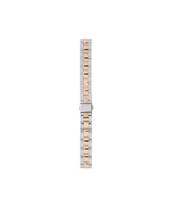OLIVIA BURTON LONDON Big Dial Silver & Gold BraceletOBS267A – Mixed Metal Bracelet Strap - Front view