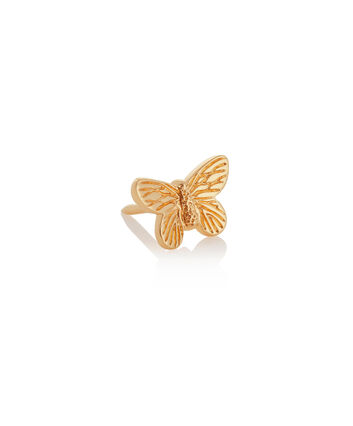 OLIVIA BURTON LONDON 3D Butterfly Pin GoldOBPIN08 – 3D Butterfly Pin Gold - Front view