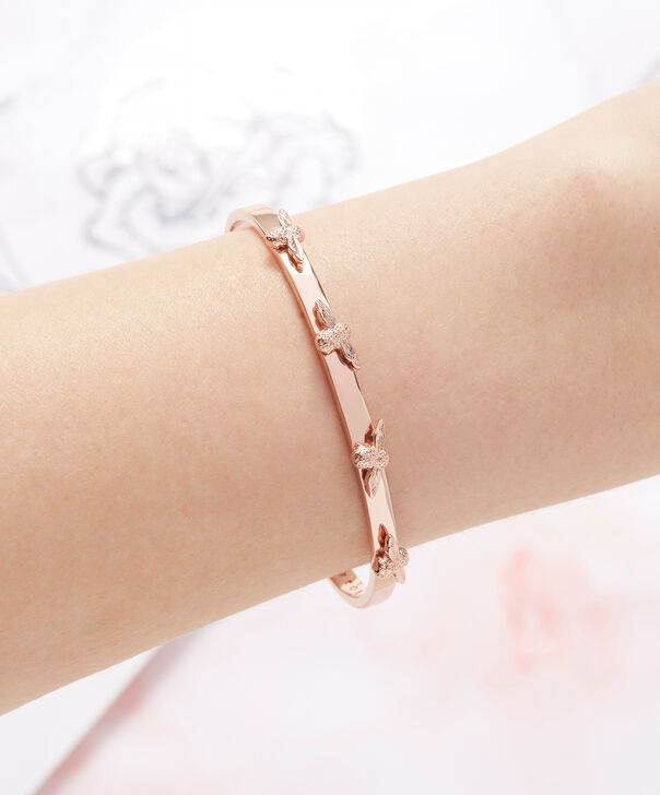 OLIVIA BURTON LONDON  3D Bee Bangle Rose Gold OBJ16AMB34 – 3D Bee Bangle - Other view