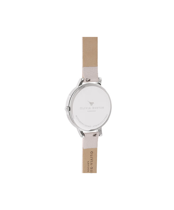 OLIVIA BURTON LONDON Demi Pearl Pink, Rose Gold & SilverOB16CS21 – Demi Dial in Pearl Pink and Silver & Rose Gold - Back view