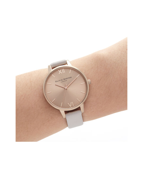 OLIVIA BURTON LONDON Demi Sunray Blush & Pale Rose GoldOB16DE08 – Demi Dial In Pink And Rose Gold - Other view