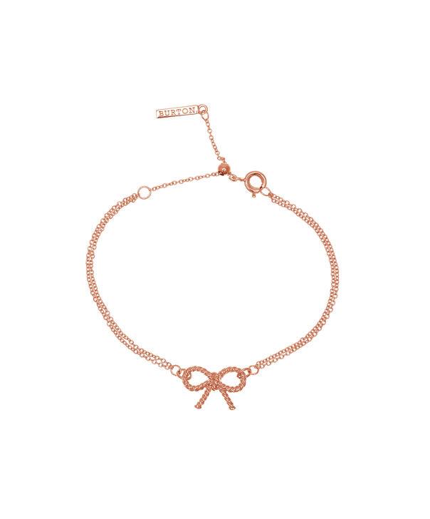 OLIVIA BURTON LONDON  Vintage Bow Chain Bracelet Rose Gold OBJ16VBB02 – Vintage Bow Chain Bracelet - Front view