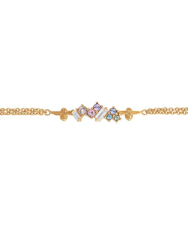 OLIVIA BURTON LONDON Rainbow Bee Chain Bracelet GoldOBJAMB80 – Rainbow Bee Chain Bracelet Gold - Side view