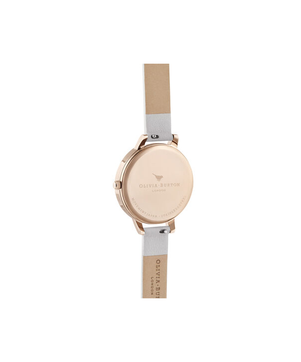 OLIVIA BURTON LONDON Demi Sunray Blush & Pale Rose GoldOB16DE08 – Demi Dial In Pink And Rose Gold - Back view