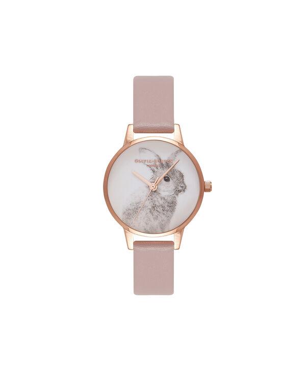 Ladies Woodland Bunny Rose & Rose Gold Watch | Olivia Burton London