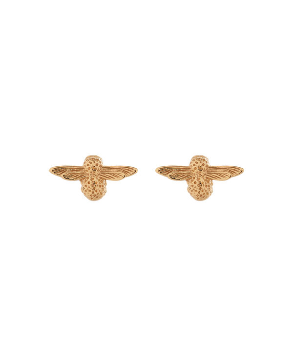 OLIVIA BURTON LONDON 3D Bee Studs Gold OBJ16AME22 – 3D Bee Stud Earrings - Front view