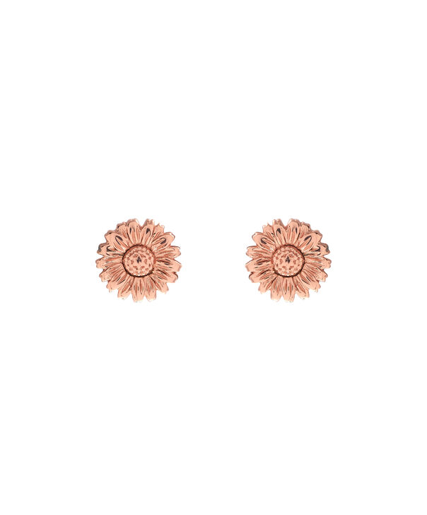 OLIVIA BURTON LONDON 3D Daisy Stud Rose Gold OBJ16DAE14 – 3D Daisy Stud Earrings - Front view