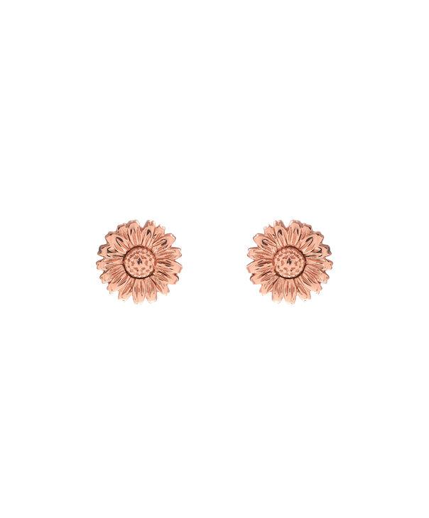 OLIVIA BURTON LONDON 3D Daisy Stud Rose Gold OBJ16DAE14 – 3D Daisy Stud Earrings - Front view