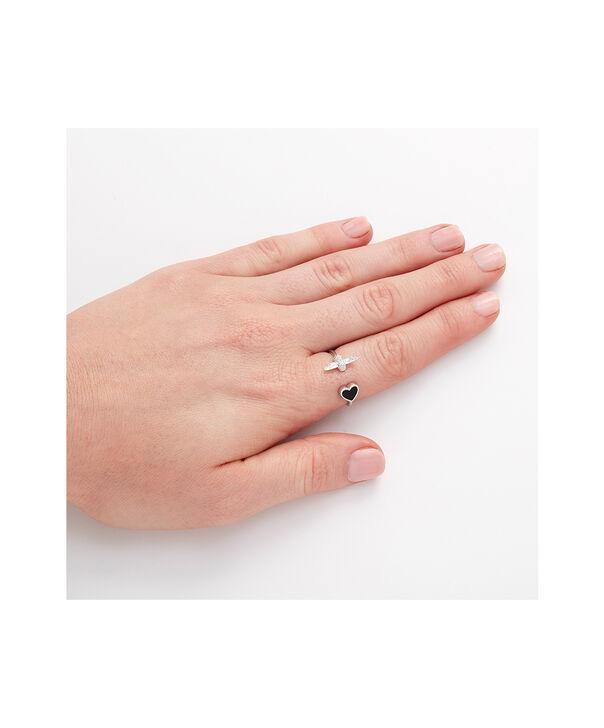 OLIVIA BURTON LONDON Love Bug Ring Black and SilverOBJLHR10 – SHOPBAG_LABEL - Other view