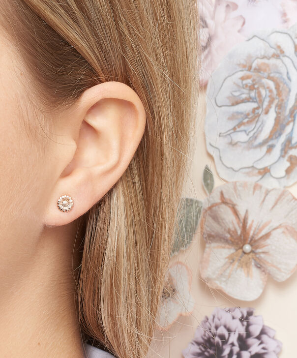 OLIVIA BURTON LONDON 3D Daisy Stud Rose Gold OBJ16DAE14 – 3D Daisy Stud Earrings - Other view