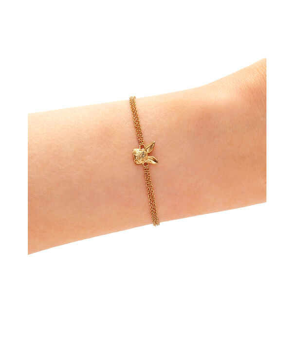 OLIVIA BURTON LONDON 3D Bunny Chain Bracelet GoldOBJAMB97 – 3D Bunny Chain Bracelet Gold - Back view