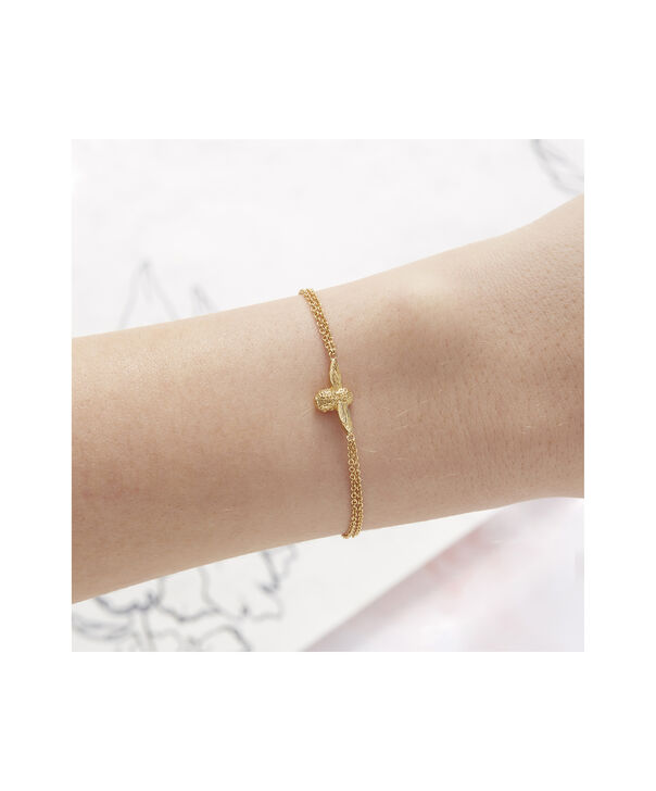 OLIVIA BURTON LONDON 3D Bee Chain BraceletOBJ16AMB44 – 3D Bee Chain Bracelet - Back view