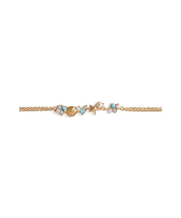 OLIVIA BURTON LONDON Under The Sea Chain Bracelet GoldOBJSCB02 – SHOPBAG_LABEL - Side view