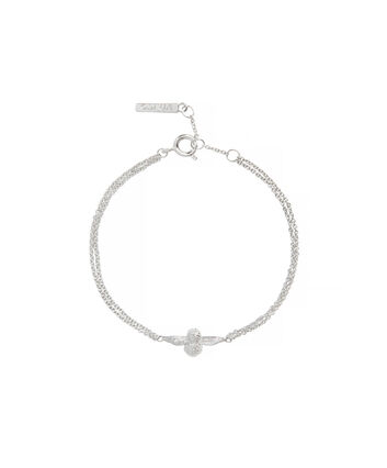 OLIVIA BURTON LONDON 3D Bee Chain BraceletOBJ16AMB45 – 3D Bee Chain Bracelet - Front view