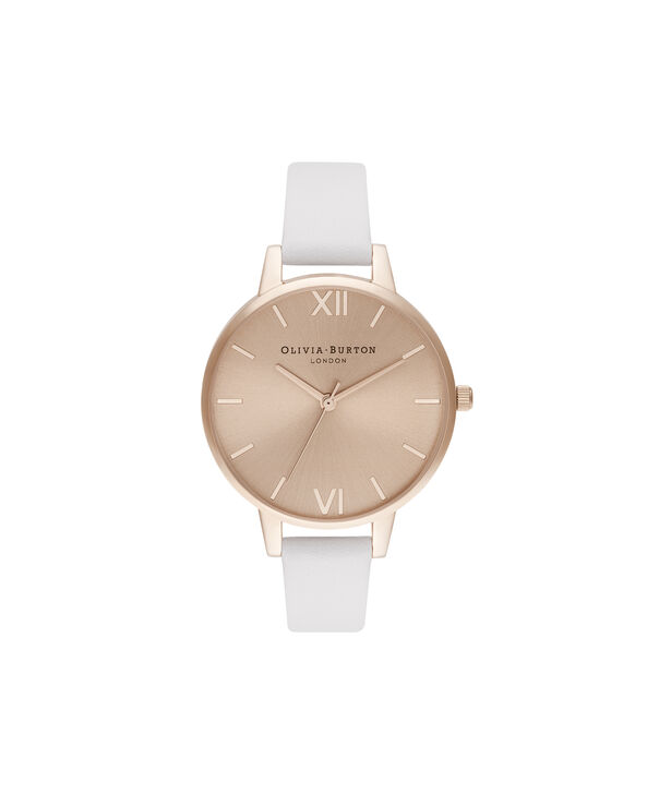 OLIVIA BURTON LONDON Demi Sunray Blush & Pale Rose GoldOB16DE08 – Demi Dial In Pink And Rose Gold - Front view