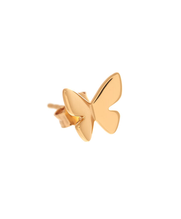 OLIVIA BURTON LONDON  Social Butterfly Stud Earrings Gold OBJ16SBE01 – Social Butterfly Stud Earrings - Side view
