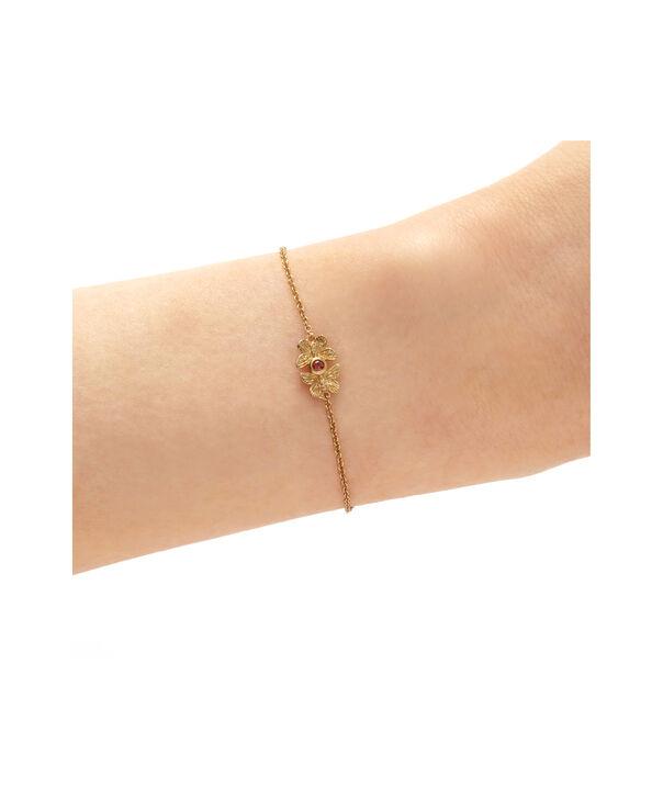 OLIVIA BURTON LONDON 3D Bejewelled Butterfly Gift Set Gold & Red CrystalOBJGSET28 – Bracelet in Gold - Other view