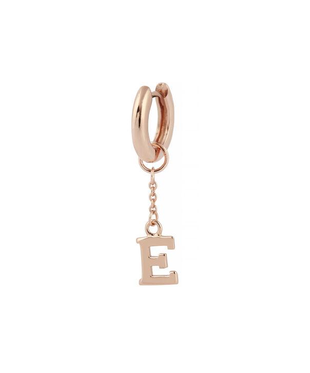 OLIVIA BURTON LONDON  G Alphabet Huggie Charm Rose Gold OBJ16HCRGG – Charms - Side view