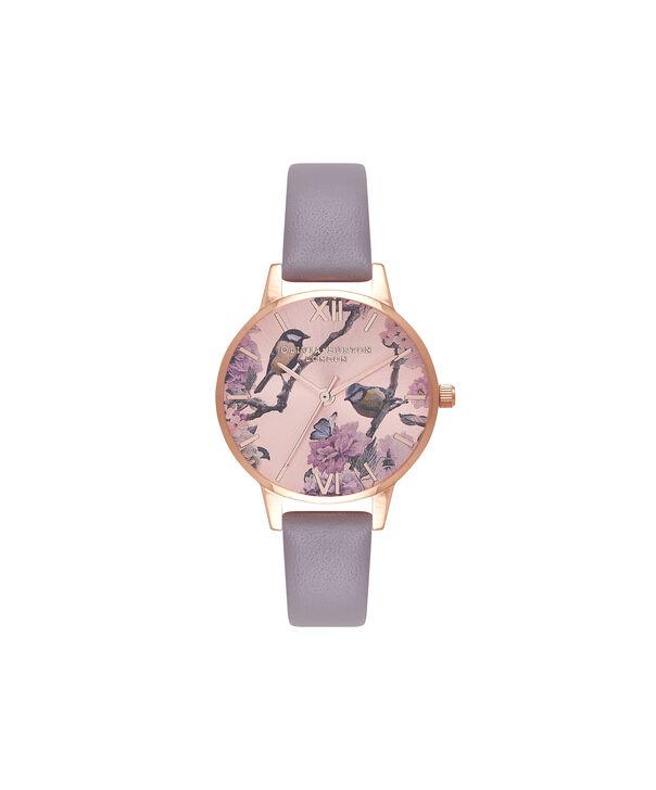 Ladies Pretty Blossom Rose Gold & London Grey Watch | Olivia Burton London