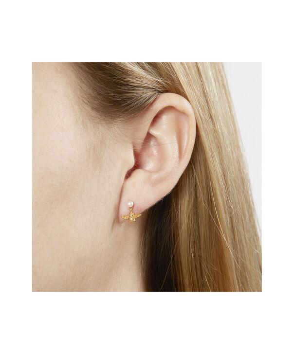 OLIVIA BURTON LONDON Pearl Bee EarringsOBJ16AME41 – Pearl Bee Stud Earrings - Side view