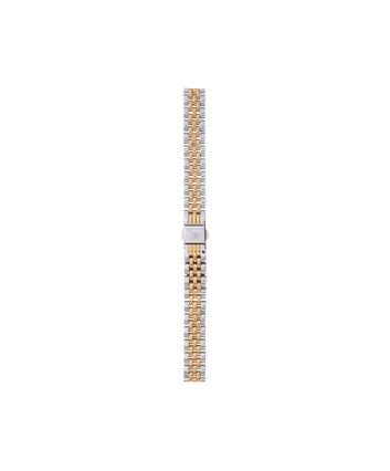 OLIVIA BURTON LONDON Midi Dial Silver & Gold BraceletOBS268A – Mixed Metal Bracelet Strap - Front view