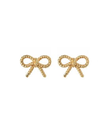 OLIVIA BURTON LONDON Vintage Bow Stud EarringsOBJ16VBE22 – Vintage Bow Stud Earrings - Front view