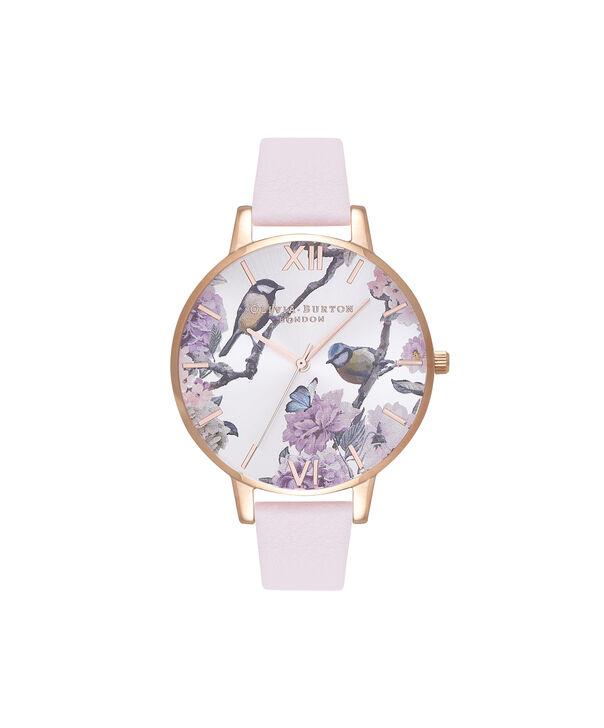 Ladies Pretty Blossom Rose Gold & Blossom Watch | Olivia Burton London