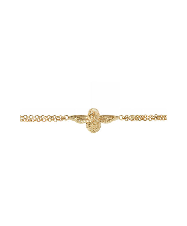 OLIVIA BURTON LONDON 3D Bee Chain BraceletOBJ16AMB44 – 3D Bee Chain Bracelet - Side view