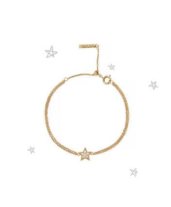OLIVIA BURTON LONDON Celestial Star Chain BraceletOBJ16CLB01 – Celestial Chain Bracelet - Front view