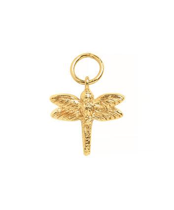 OLIVIA BURTON LONDON Dragonfly Huggie CharmOBJ16AME46 – Charm Charm - Front view