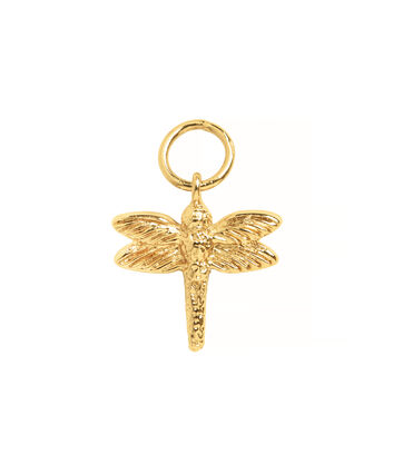 OLIVIA BURTON LONDON Dragonfly Huggie CharmOBJ16AME46 – Charm Charm - Front view