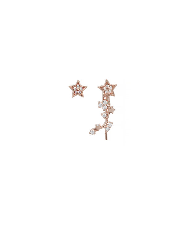 OLIVIA BURTON LONDON Celestial Star Crawler and Stud EarringOBJ16CLE02 – Celestial Crawler & Stud - Front view