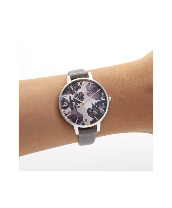 OLIVIA BURTON LONDON Twilight Sunray Big Dial WatchOB16TW05 – Big Dial in grey and Silver & Rose Gold - Other view