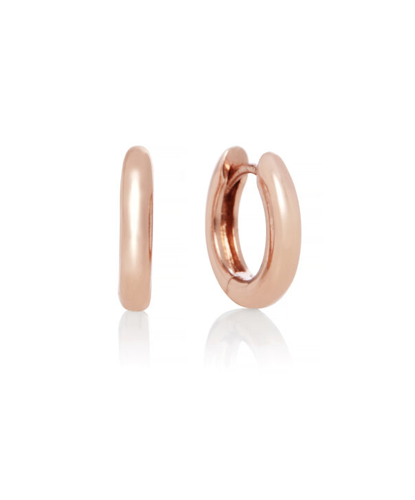 OLIVIA BURTON LONDON Huggie Hoop EarringsOBJ16COE25 – Huggie Hoop Earrings - Front view