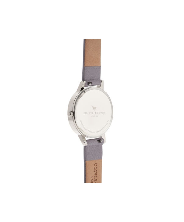 OLIVIA BURTON LONDON Midi Dial White Dial Grey Lilac Watch, Rose Gold & SilverOB16MDW26 – Midi Dial in White and Grey Lilac - Back view