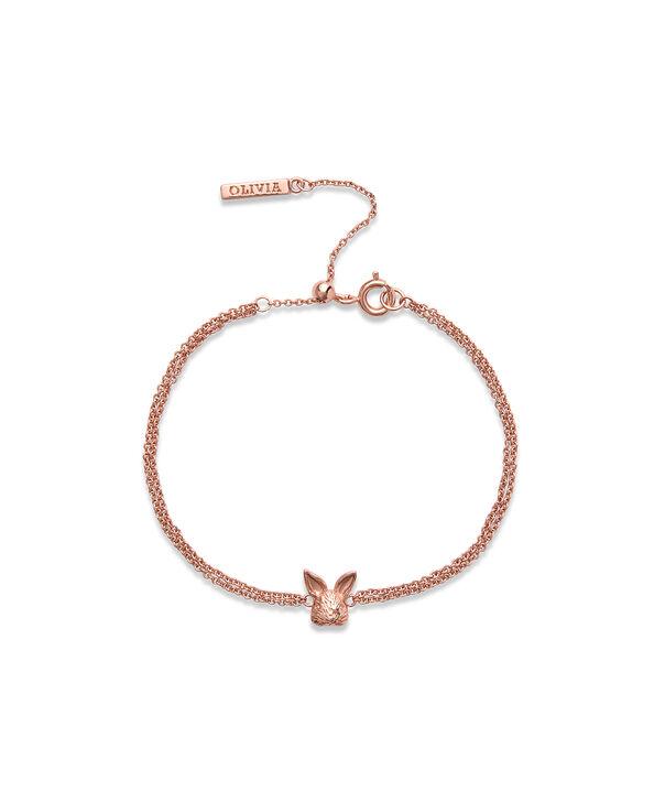 OLIVIA BURTON LONDON 3D Bunny Chain Bracelet Rose GoldOBJAMB96 – 3D Bunny Chain Bracelet Rose Gold - Front view