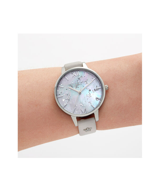 OLIVIA BURTON LONDON Celestial Star Mother of Pearl Dial, Blush & SilverOB16GD42 – SHOPBAG_LABEL - Other view