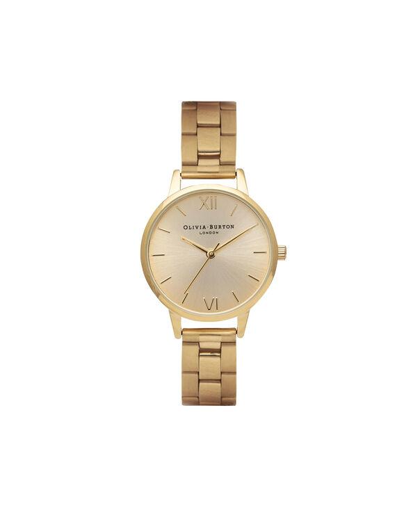 OLIVIA BURTON LONDON  Midi Dial Bracelet Gold Watch OB13BL04B – Midi Dial Round in Gold - Front view