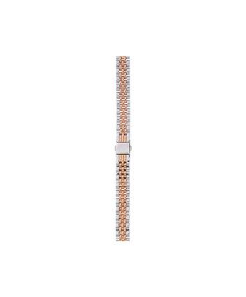 OLIVIA BURTON LONDON Midi/Demi Dial Silver & Rose Gold BraceletOBS117A – Midi/Demi Dial Silver & Rose Gold Bracelet - Front view