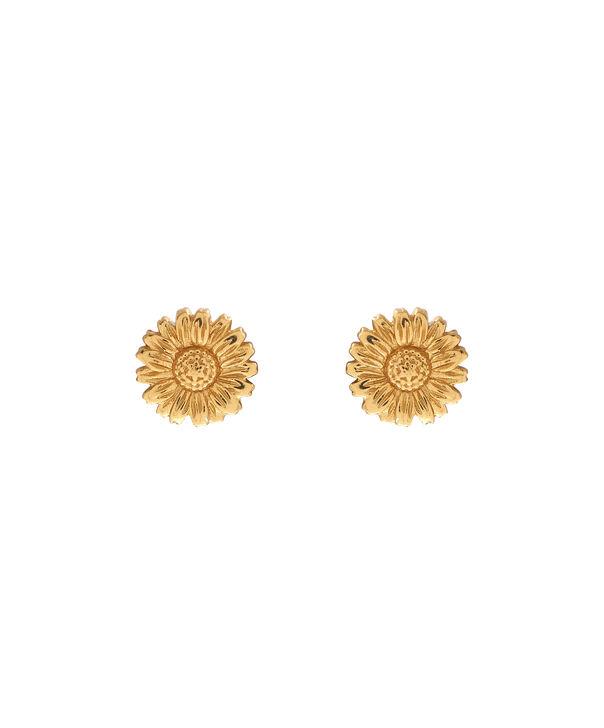 OLIVIA BURTON LONDON 3D Daisy Stud Gold OBJ16DAE13 – 3D Daisy Stud Earrings - Front view