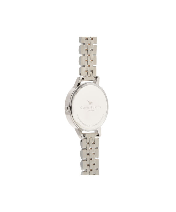 OLIVIA BURTON LONDON  Midi Dial White Dial Gold & Silver Bracelet Watch OB16MDW34 – Midi Dial in White and Silver and Gold - Back view
