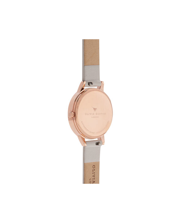 OLIVIA BURTON LONDON  Enchanted Garden Blush & Rose Gold Watch OB16WG37 – Midi Dial Round in Rose Gold and Blush - Back view