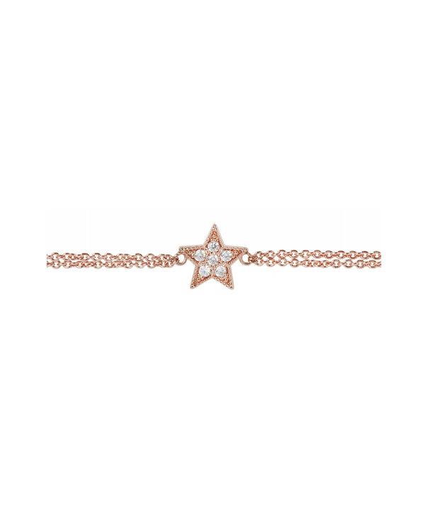 OLIVIA BURTON LONDON Celestial Star Chain BraceletOBJ16CLB02 – Celestial Chain Bracelet - Side view