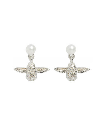 OLIVIA BURTON LONDON Pearl Bee EarringsOBJ16AME43 – Pearl Bee Stud Earrings - Front view